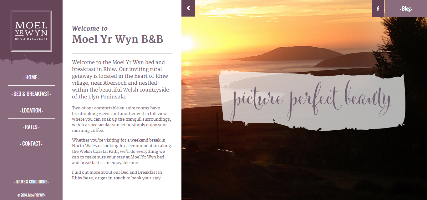 bed and breakfast in Rhiw